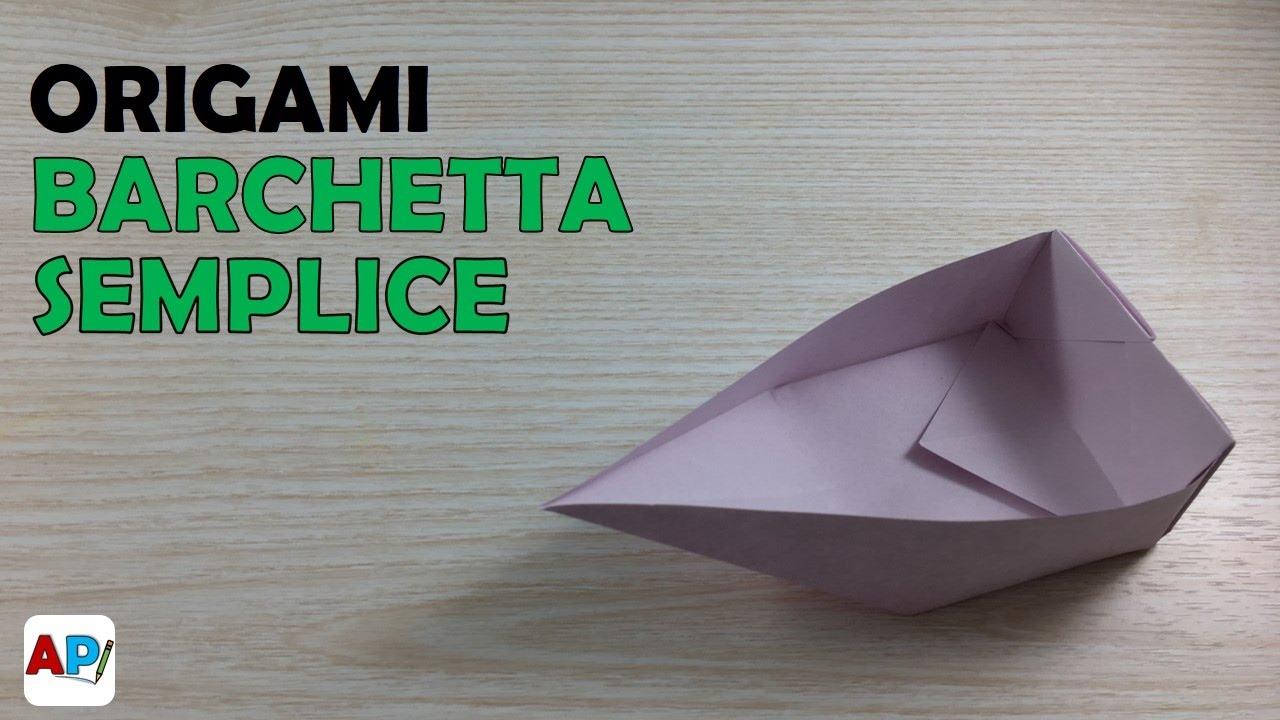 Origami Barchetta Di Carta Youtube