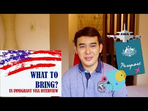 US VISA APPLICATION: What To Bring? + Tips