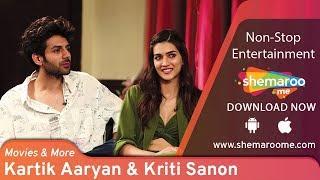 Kartik Aaryan & Kriti Sanon irritate each other   Siddharth Kannan Interview   Movies & More