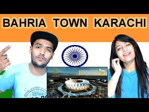 Indian reaction on Bahria Town Karachi | Swaggy d