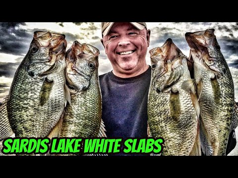 Sardis lake king slabs youtube for Sardis lake fishing report