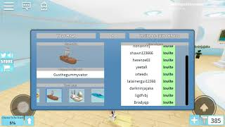 Playing Roblox Sharkbite🐬 With Turkey Chan