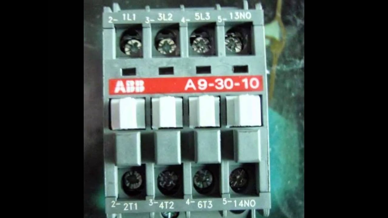 hight resolution of abb contactor
