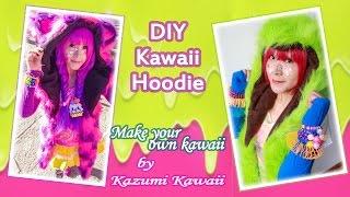 How to make a Kawaii hoodie