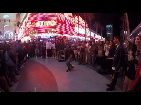 LAS VEGAS [MAY 2016] - PART 4 - Fremont Street Performer