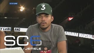 chance the rapper talks mayweather mcgregor and colin kaepernick sc6 espn