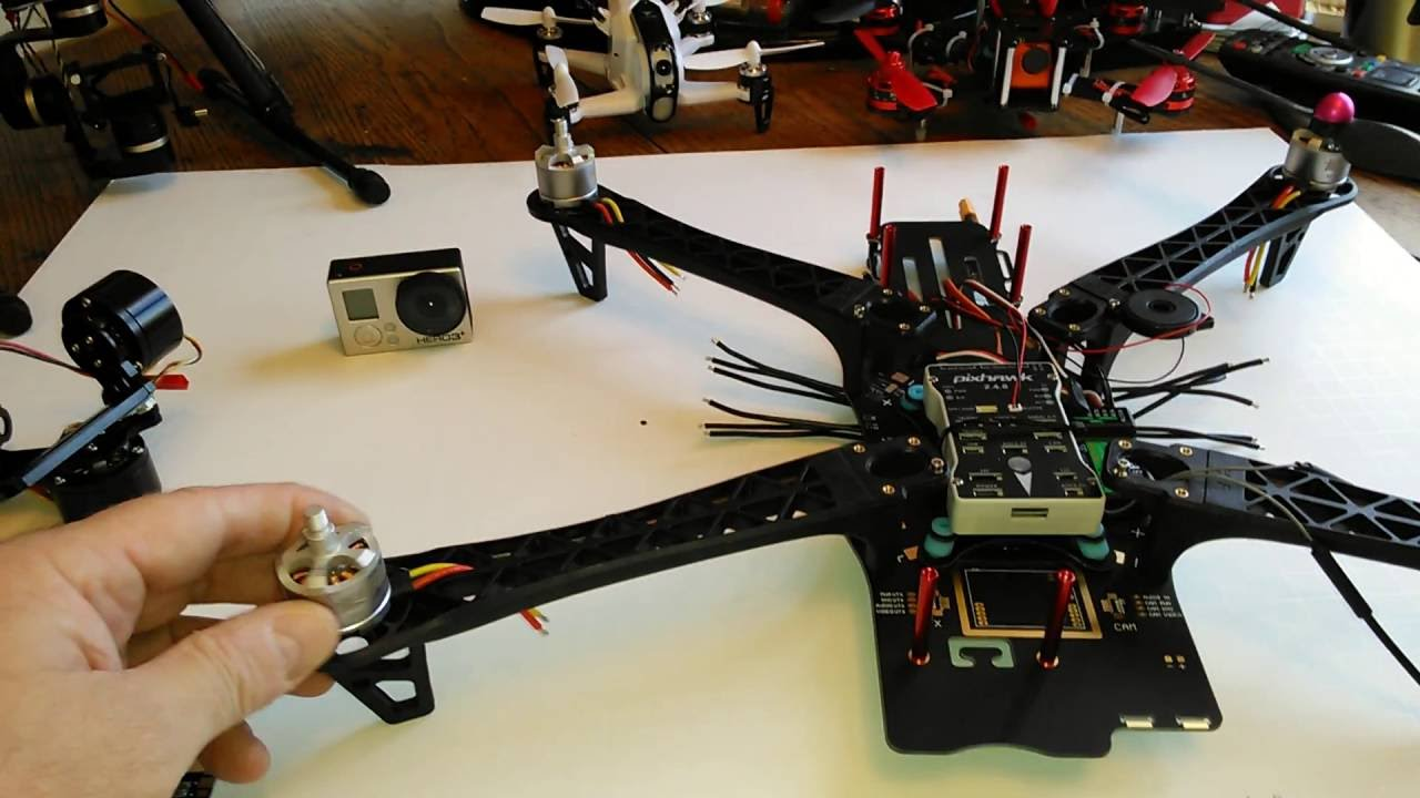GoPro Photo Platforms CX-20 vs TBS Discovery Frame and TreeTop Quad ...