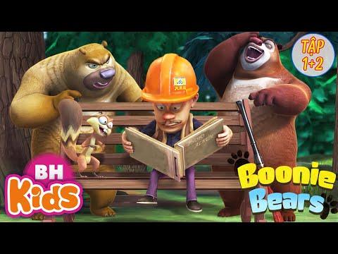 Hoạt Hình 2 Chú Gấu BOONIE BEARS - Gã Thợ Săn và Gấu Tham Ăn - Phim Hoạt Hình Tiếng Việt Hay Nhất