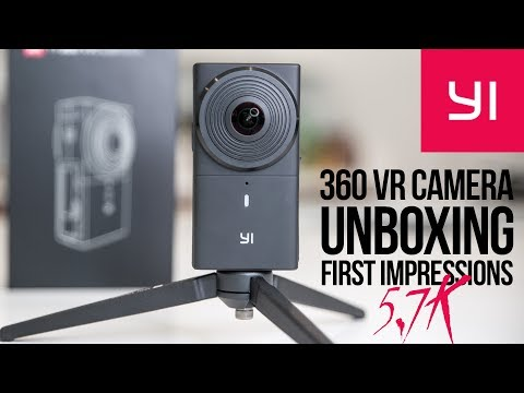Yi 360 VR Camera unboxing & in-depth review: the best Prosumer 360 camera, 5.7K in late 2017?