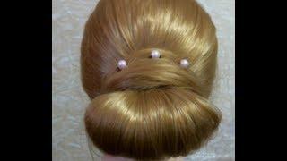 БЫСТРАЯ причёска |  Cute Girls Hairstyles(Важная информация=========== В этом видео я покажу, как делать быстро и красиво прическу. Музыка из видео:..., 2013-02-03T10:32:50.000Z)