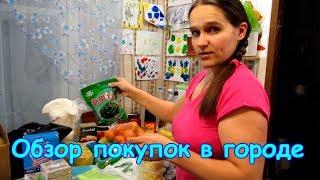 Обзор покупок в Иркутске. Продукты и др. товары. (03.18г.) Семья Бровченко.