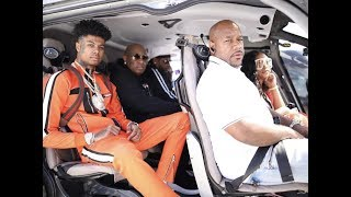 Birdman Buys Blueface Manager Helicopter and $300K Cash Money Chain