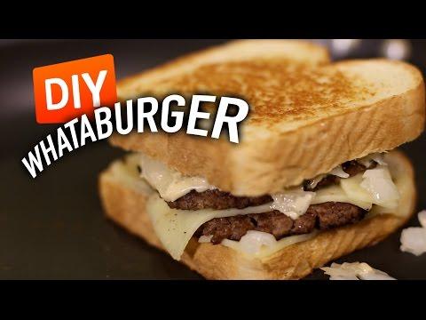 DIY WHATABURGER Patty Melt - Feat. Mr. Pig