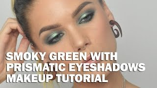 Smoky Green With Prismatic Eyeshadows (with subs) - Linda Hallberg Makeup Tutorials