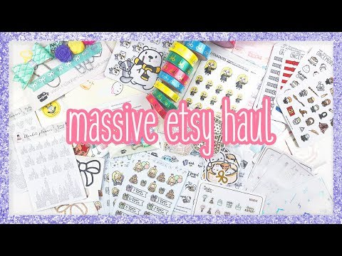 Etsy Haul ♡ ALL THE THINGS!