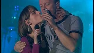 Lidia di Giorgio canta con Gigi d'Alessio Acireale 12/12/2009