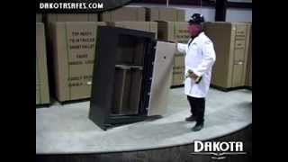 Dakota Safe - Moving A Gun Safe - Self Installation - Bolt Down
