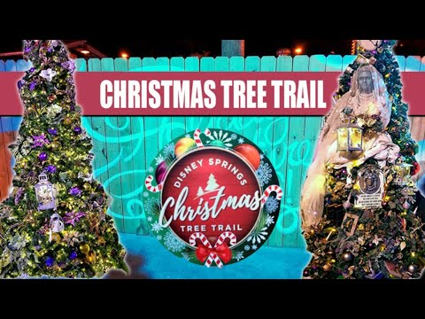 Disney Springs Christmas Tree Trail 2019 - Live 1080p