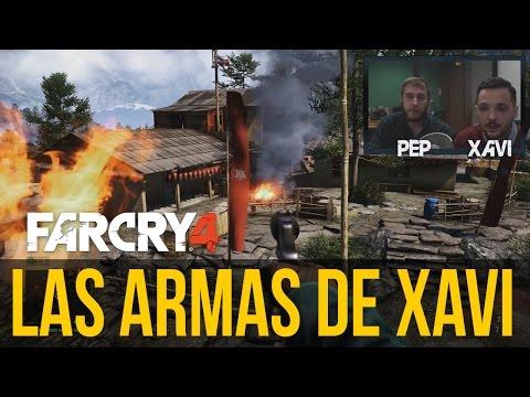 FAR CRY 4: PROBAMOS LAS ARMAS, las favoritas de Xavi (¡La cosa se tuerce!)