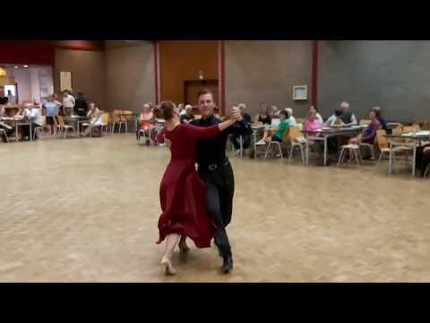 Opendeur 14/09/2019 Quick Step Dorien en Nikita, danspaar Ballroom Blitz