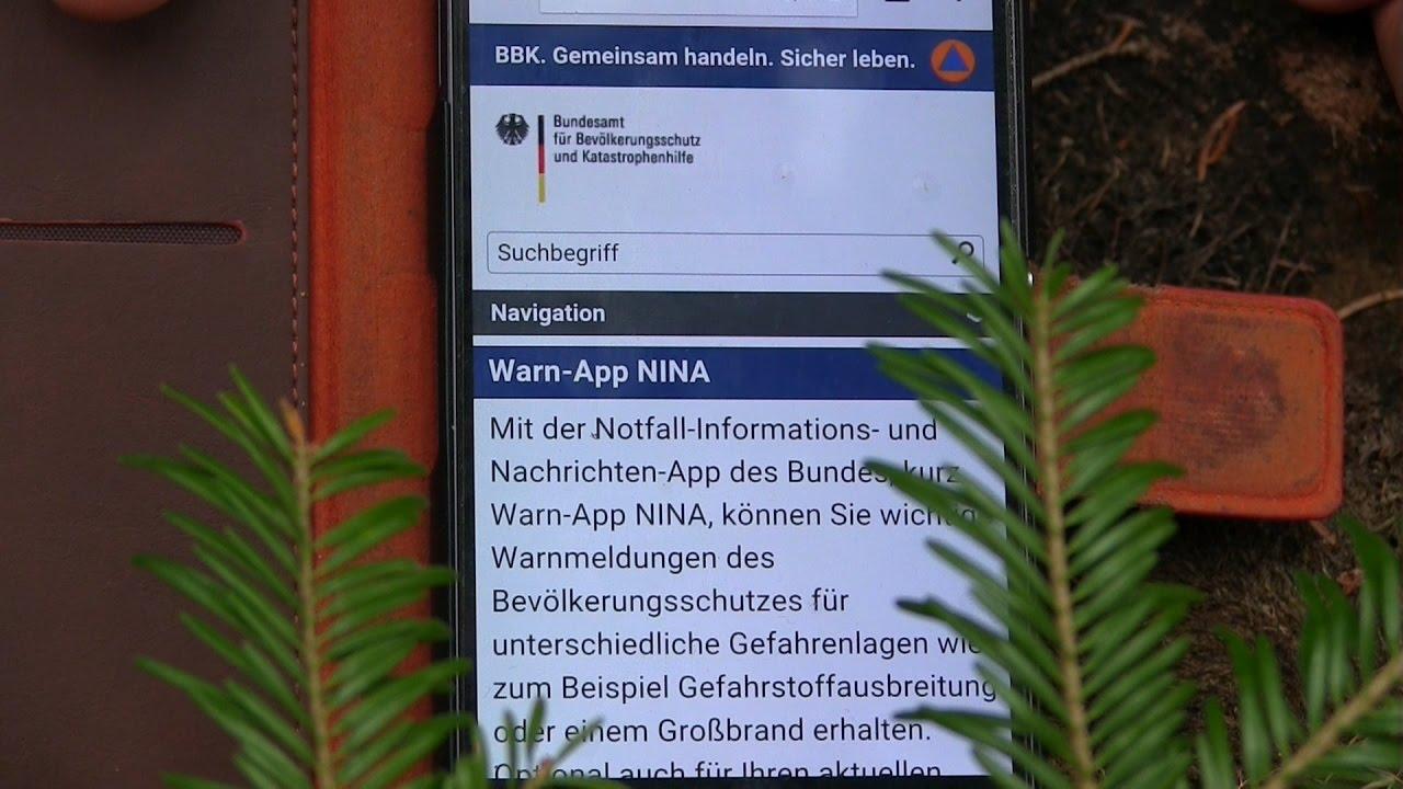 Unwetter App Nina