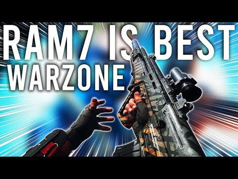 This is why the RAM7 is the Best Gun in Warzone now...