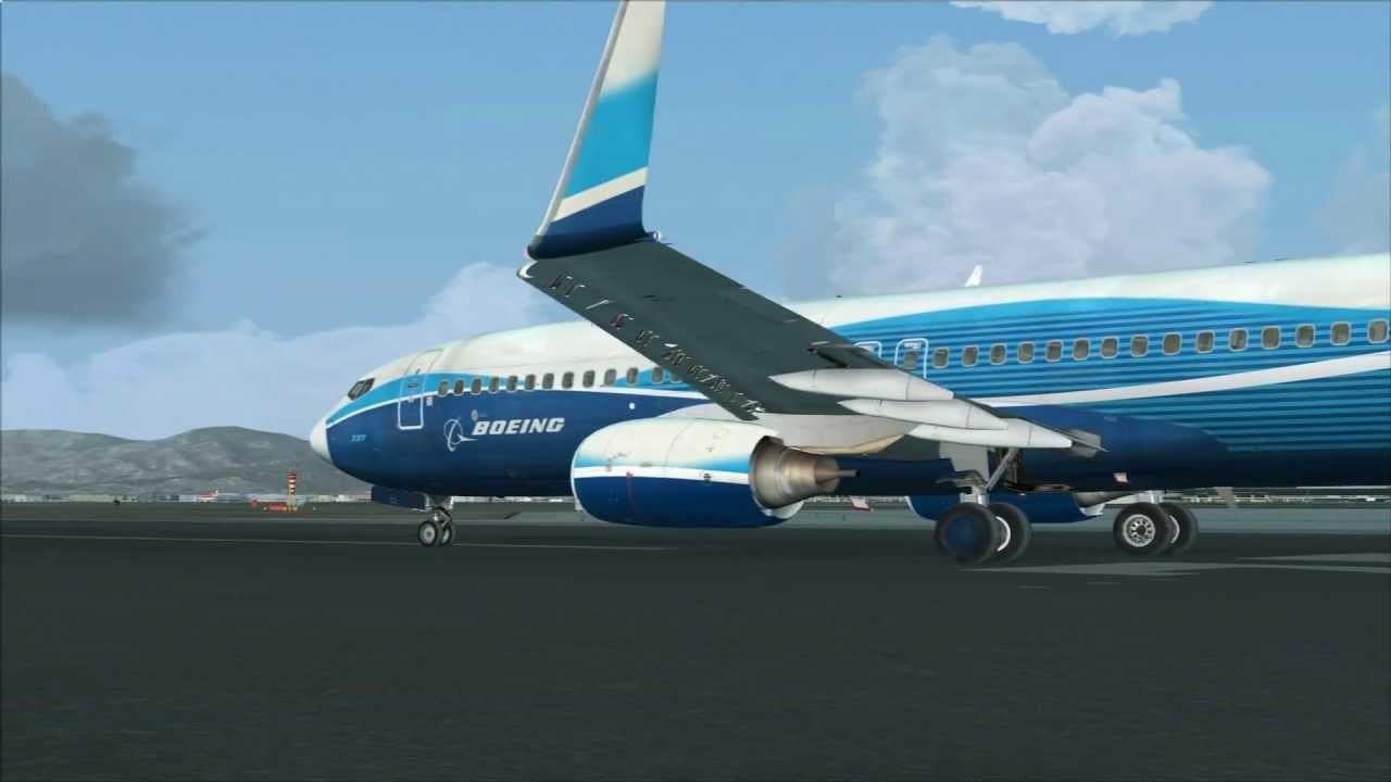 PMDG 737-800NGX + McPhat Studios Free Ryanair livery at LEBL Barcelona - El  Prat
