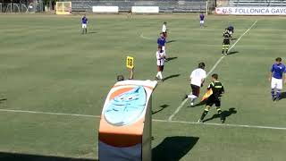 Serie D Girone E Follonica Gavorrano-Sangiovannese 2-0