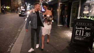 EXCLUSIVE: NEWLY SINGLE SOPHIE GRADON ENJOYS NIGHT OUT IN NEWCASTLE!! AFTER SPLIT WITH TOM POWELL