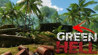Green Hell - Finding Civilization! - Illegal Drug Lab Loot Haul - Green Hell Gameplay