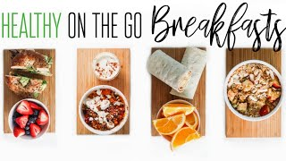 Healthy 5 minute Breakfast Ideas for busy people / kid friendly