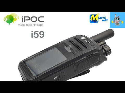 iPOC i59 วิทยุสื่อสารpoc