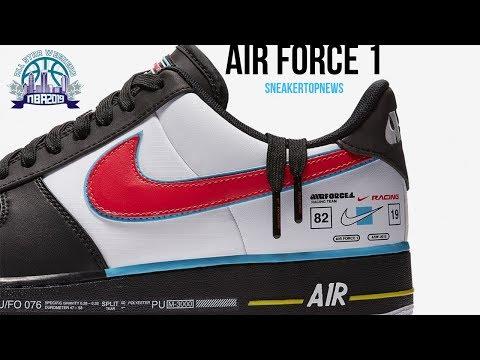Nike Air Force 1 Racing Inspired All Star Weekend