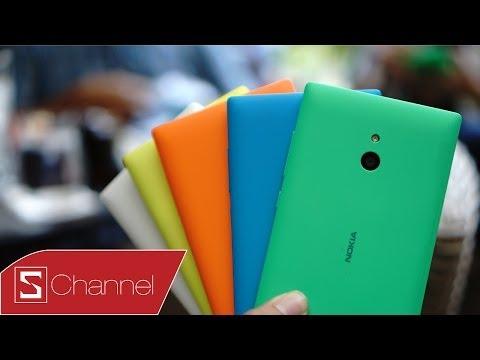 Schannel - Đánh giá thiết kế, màn hình, hiệu năng Nokia XL
