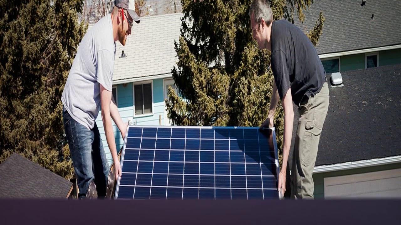 Cool Blew Solar Panels in Peoria