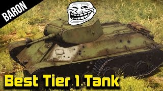 War Thunder Best Tier 1 Tank - Flank and Spank! (War Thunder Tanks Gameplay 1.43)