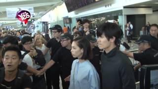 水原希子三浦春馬抵港出席電影首映 對粉絲有求必應 三浦春馬 動画 9