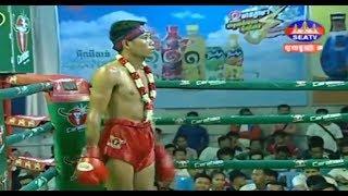 សុខ សាវិន Sok Savin Vs (Thai) Phat Thana , SeaTV Boxing, 13/October/2018