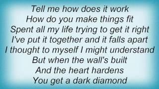 Elton John - Dark Diamond Lyrics