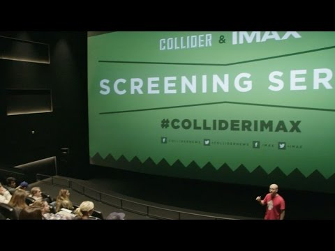 Collider & IMAX Screening Series promotion - Collider