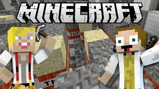 [GEJMR] Minecraft Minihry - TnT Run & Farm hunt - v jednom videu :)