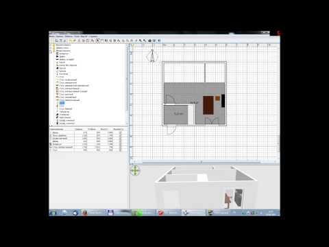 Планировка дома в Sweet Home 3D