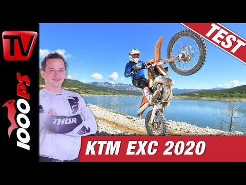 KTM EXC 2020 - Die neueste Generation der KTM Hard Enduros
