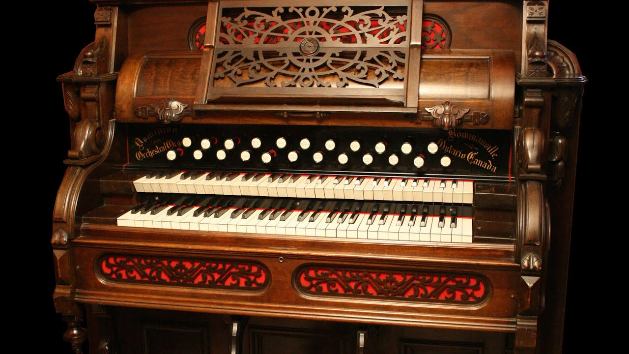 Toccata Amp Fugue In D Minor Reed Organ Pump Organ Youtube