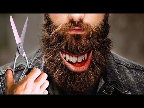 Shaving a Beard