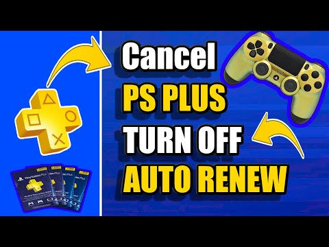 How to Cancel PS PLUS Subscription and Turn off AUTO RENEW PS4 (2 Methods and MORE!)