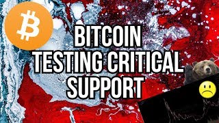 BITCOIN TESTING 200MA WILL IT HOLD? - BITMEX LIQUIDATIONS - Steven Seagal SETTLES WITH sec