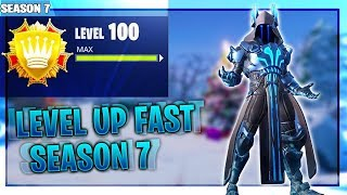 "How To ""LEVEL UP FAST"" In Fortnite SEASON 7 