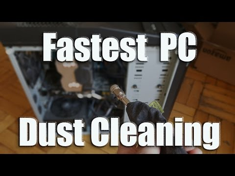 PC Dust Removal: Clean Your Computer In Under 5 Minutes!!!