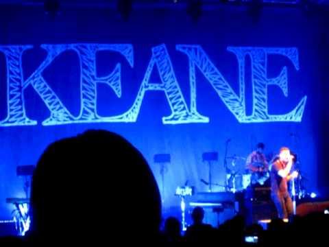 Keane - Nothing In Your Way @ Greek Theatre LA 7/21/2010